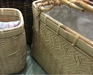 竹編み作品