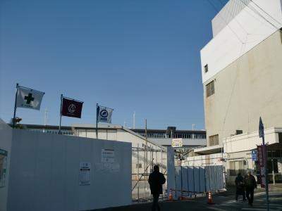 徳山駅の改修1