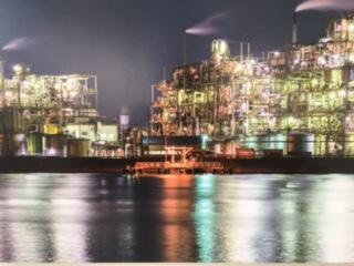 工場夜景写真1