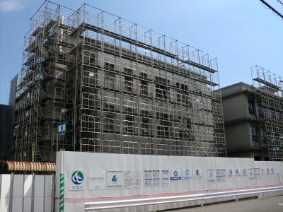 市役所新築工事21