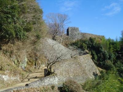 岡城に登る1