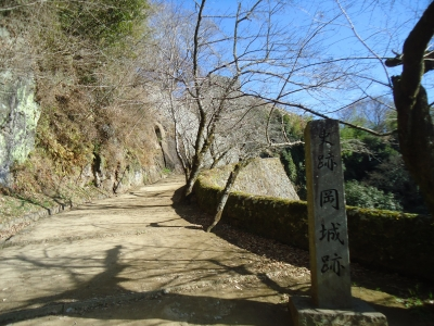 岡城に登る4