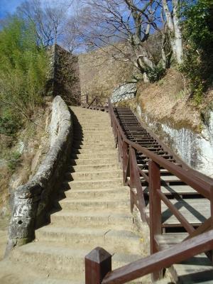 岡城に登る6