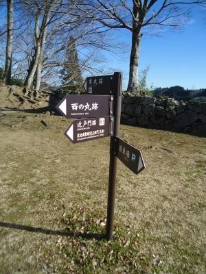 岡城に登る10