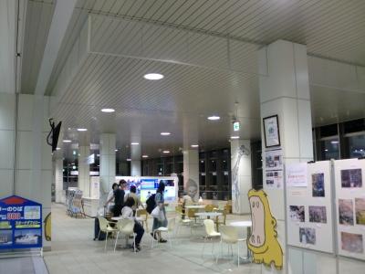夜の徳山駅3