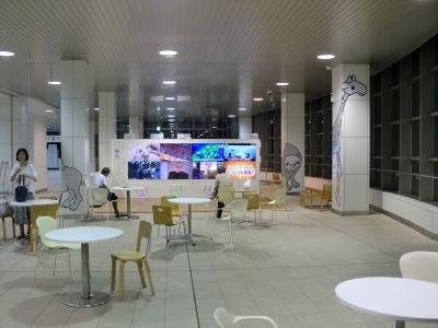 夜の徳山駅4