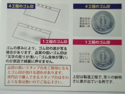ゴム印の製造3