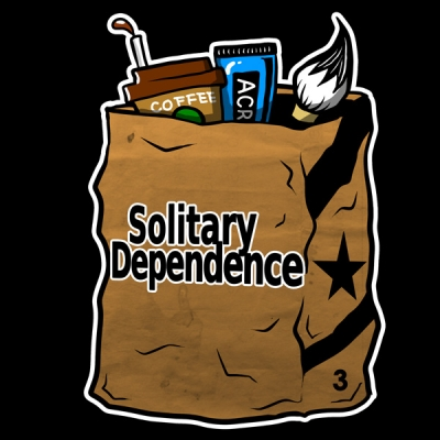 SolitaryDependence logo image illustration artwork  ソリタリー ロゴ イラスト ブランド  画像