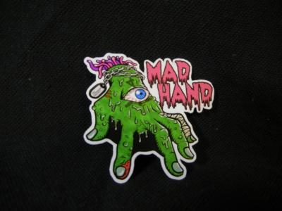 MadHand sticker original オリジナル ステッカー マッドハンド  solitarydependence ステッカー