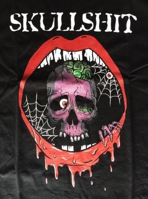 skull illustration design designer スカル イラスト デザイナー スカルシット Tシャツ