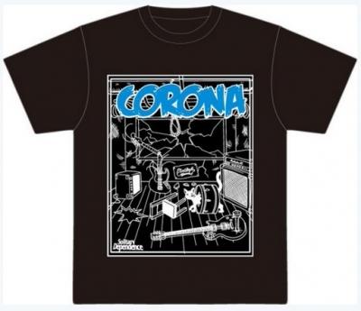 デザイン バンT バンド Tシャツ イラスト イラストレーター CORONA コロナ デザイナー
