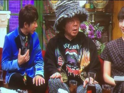 古田新太 Tシャツ デザイナー サトウトモヒコ 関ジャム 完全燃SHOW  画像