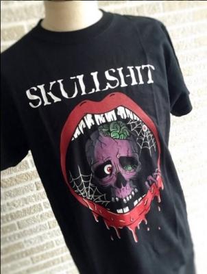 SKULL SHIT Skull Mouth サトウトモヒコ デザイン イラストレーター デザイナー Tシャツ 画像