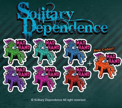 MadHand sticker original オリジナル ステッカー マッドハンド  solitarydependence ステッカー 画像 image