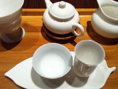 本格中国茶をどうぞ