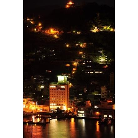 尾道市街夜景