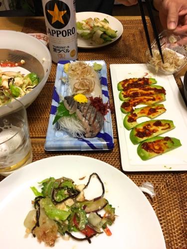 160611ワタナベの夕食