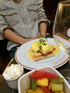 アンジェリーナの朝食