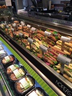 ヘルシンキのスーパーマーケット