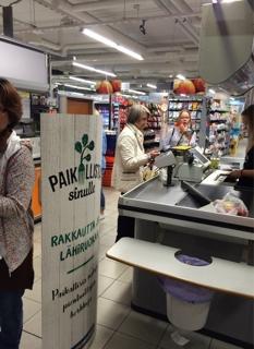 ヘルシンキのスーパー