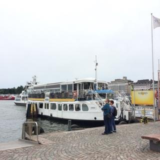 ヘルシンキの港