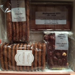 ベルギーのチョコレート菓子