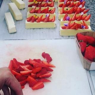 フランス イチゴ