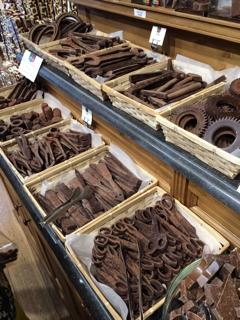 チョコレートのディスプレー