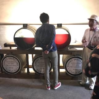 ウィスキーの樽