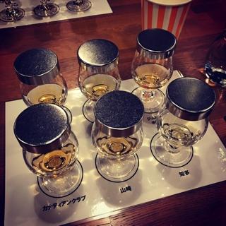 ウィスキーのテイスティング