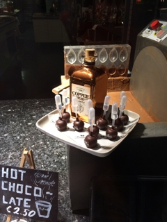 チョコレート ショーウィンドウ