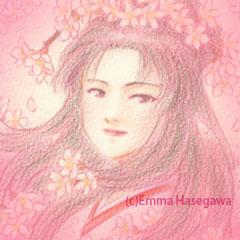 「桜の天女」ミニ絵馬堂version