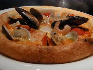 漁師風ピザ