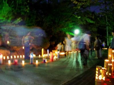 高崎観音山万灯会2010