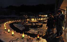 20120225「キャンドルナイトin川場」