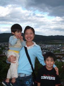 中国人女性と我が家の子供たち