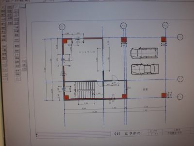 CAD画面1