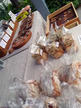 ヨガイベントのパン