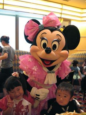 シェフミッキーへ(ミニーマウス)