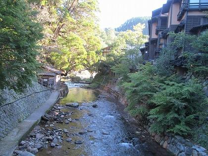 黒川温泉の朝