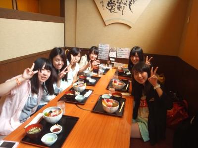 近江市場で海鮮丼!!
