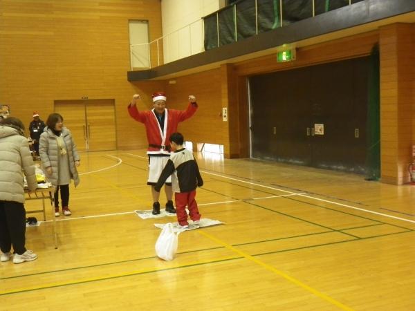 サンタさんとも勝負!