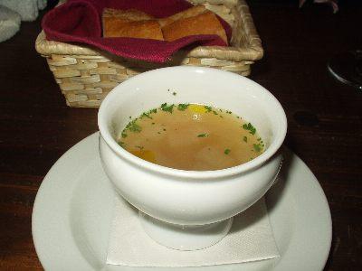 トラットリア ダ ニーノ  スープ