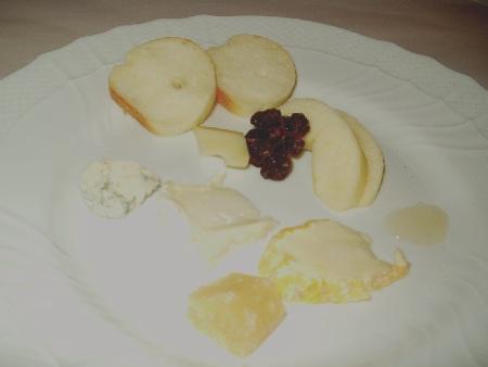 ソニドーロ チーズ盛り合わせ