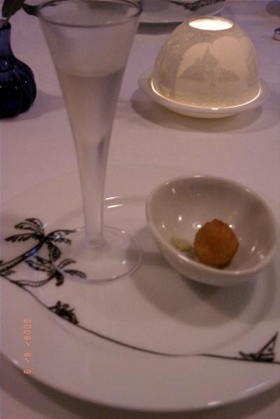 レストラン ナガタケ 前菜と食前酒