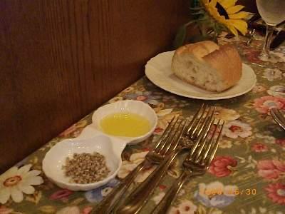 ビストロスポンタネ パン