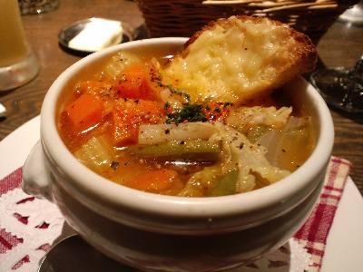 ビストロ・スリージェ スープ