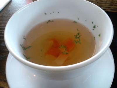 一稟珈琲 豊中緑ヶ丘店 スープ