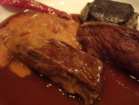 リュミエール 肉料理