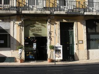 リスボン(店の入り口)